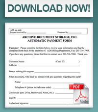 Automatic Payment Form